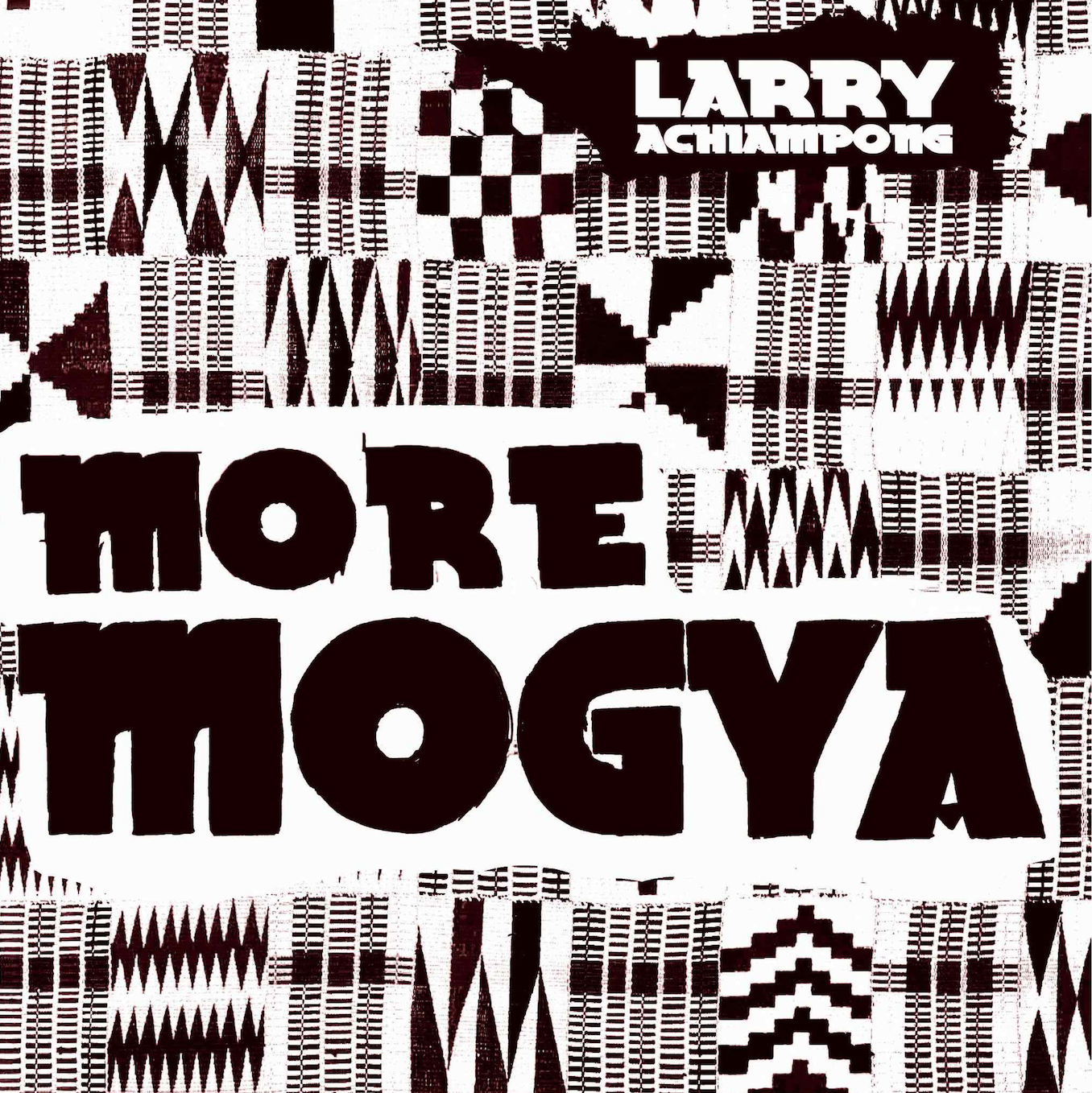 More Mogya Vinyl Cover, audio-based works from acoustic-based Highlife sounds.