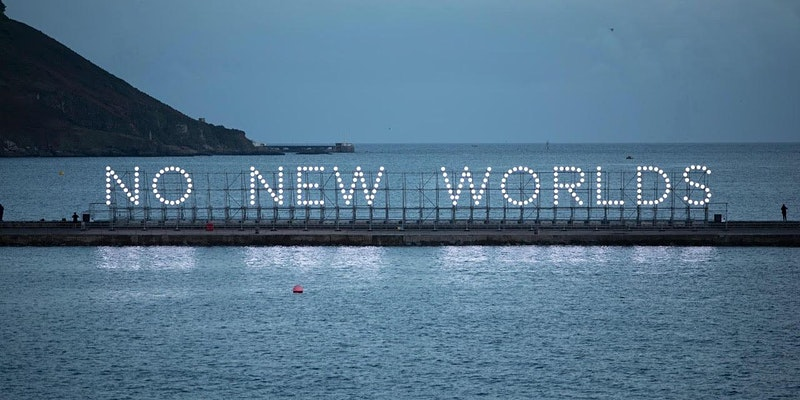 No New Worlds installation asks us to consider our past and future