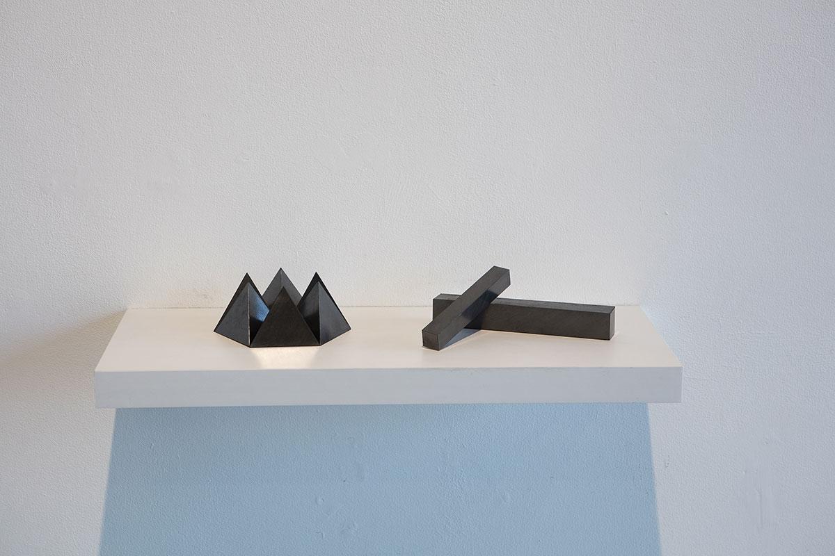Kazuya Tsuji's award winning pieces Solid I and Solid IV